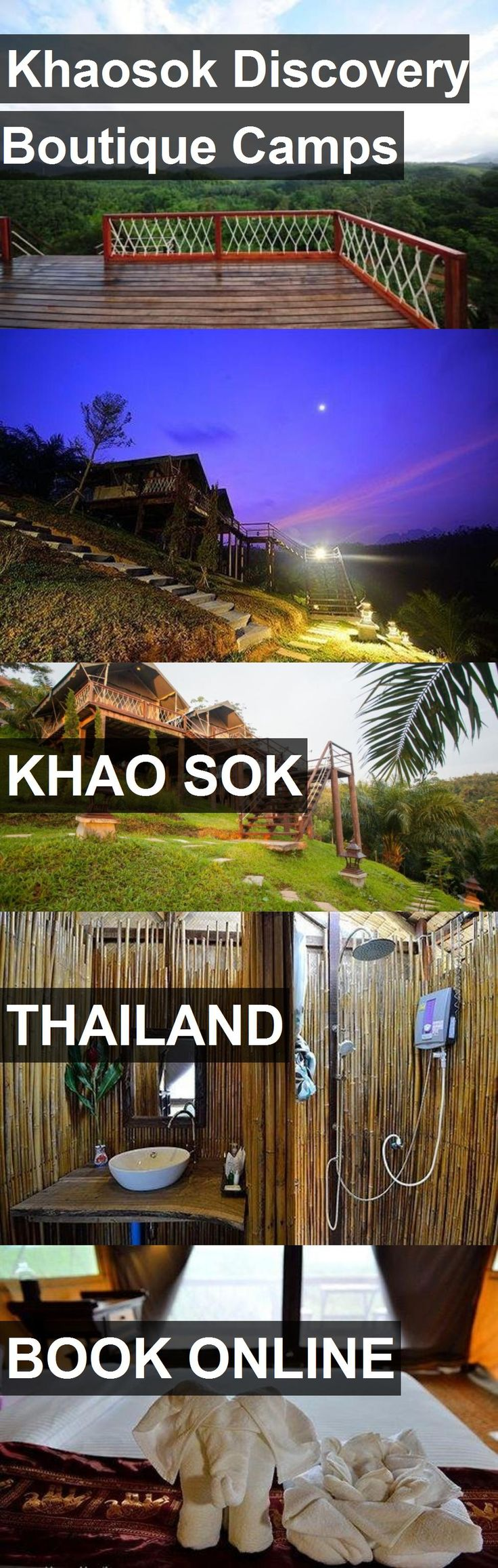 Hotel Khaosok Discovery Boutique Camps in Khao Sok, Thailand. For more information, photos, reviews and best prices please follow the link. #Thailand #KhaoSok #KhaosokDiscoveryBoutiqueCamps #hotel #travel #vacation