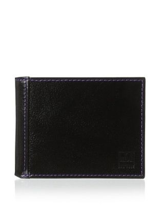 57% OFF Ike Behar Men's Slim Wallet (Black)