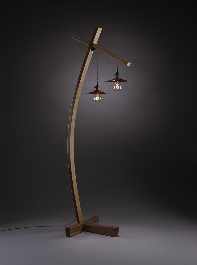 2432 best lighting images on pinterest light design chandeliers twice aglow brian hubel wood floor lamp artful home aloadofball Choice Image
