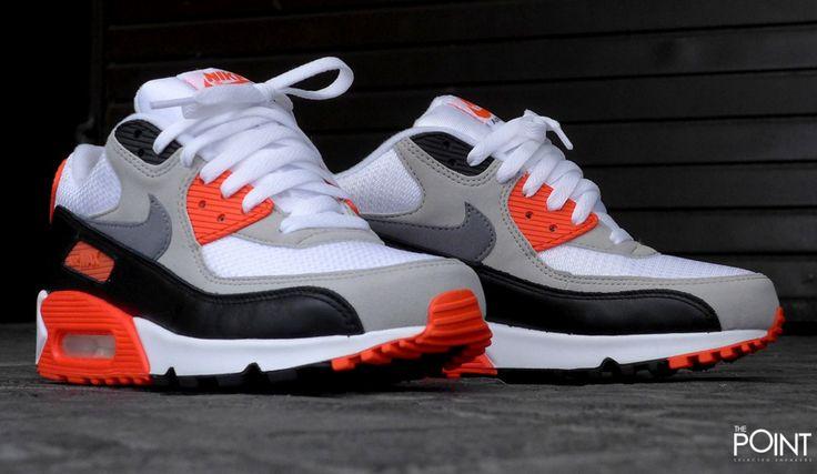 Zapatillas Nike Air Max 90 Og Infrared, vuelve a estar en la #tiendaonlinedezapatillas #ThePoint el modelo de la serie #AirMax mas solicitado y coleccionado, el modelo de #zapatillasNikeAirMax90 llega de nuevo en la combinación de color #Infrared, visitanos y descubre toda la #colecciónPrimaveraVerano2015 de #Nike, o bien clica en este enlace http://www.thepoint.es/es/zapatillas-nike/977-zapatillas-hombre-nike-air-max-90-og-infrared-.html