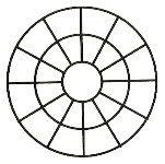 Depende del diámetro de la torta, si esta es pequeña, marcar un círculo a 5 a 6cm. aproximadamente del centro de la torta, luego la torta divide en 4 partes, y de ahí medir porciones de aproximad…