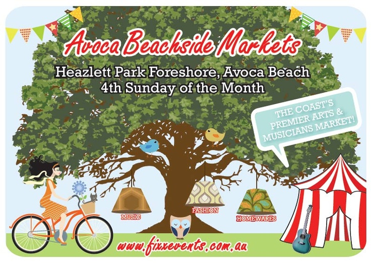 Avoca Beachside Markets   4th Sunday of the Month