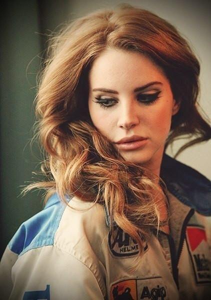 Lana Del Rey long hairstyle