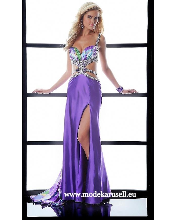 Sexy Abendkleid in Lila  www.modekarusell.eu