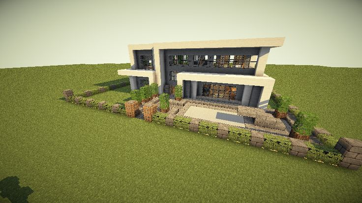 193 best minecraft ideas images on pinterest for Modern house designs mc