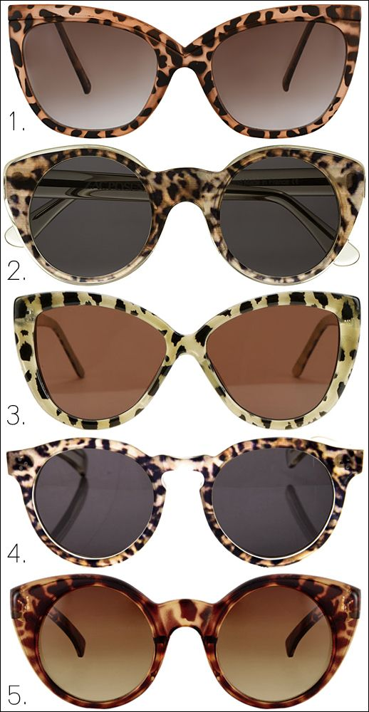 In Love with cat eye sunglasses!