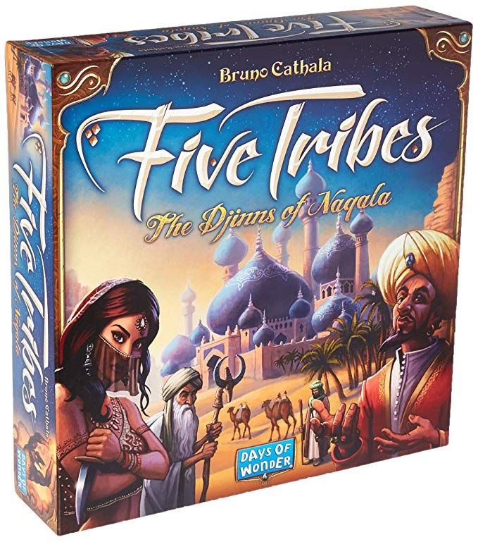 Amazon Com Five Tribes Toys Games Board Games Game Sales
