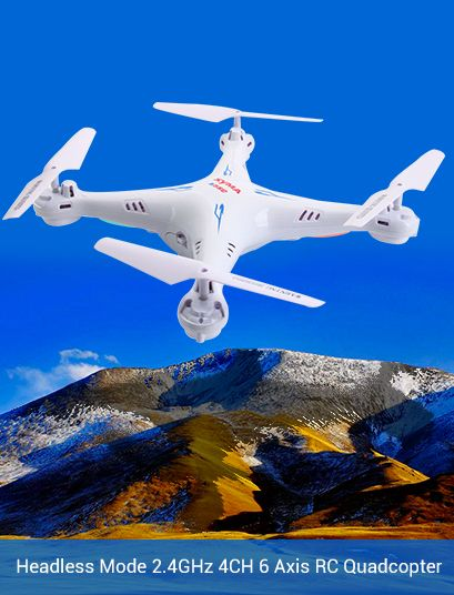 Syma X5SC Headless Mode 2.4GHz 4CH 6 Axis RC Quadcopter with 2MP Camera RTF