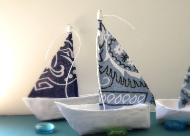 Etceteras Bandana Boats IdeasBandana CraftsDiy