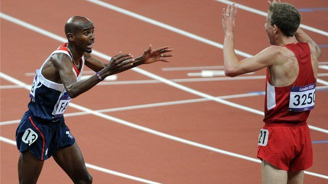 Mo Farah. The most iconic win of the games?