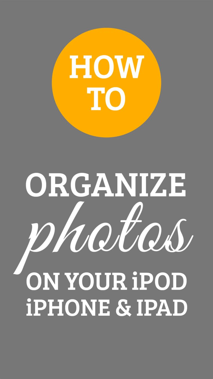 There are several ways to organize your photos. Some of you may choose to  use an app like DropBox, some may use iPhoto for Mac, or perhaps just the  standard folder system on your computer. There are many ways to organize  them after you transfer them to your computer, but what if you want to  organize your photos directly in your iPhone prior to transferring them?  Here are some easy steps on how to create a folder for your photos and how  you can move them to the new folder:     1. On…