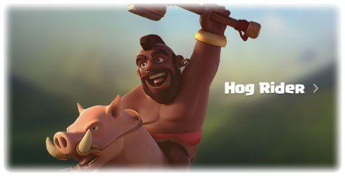 Upgrade Barbarian King or Hog Riders - Hog Riders http://clashcrunch.com/