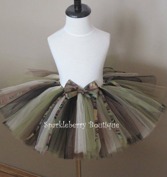 Will Your Baby Need A Camo Tutu For Her First Hunting Season? YES, YES SHE WILL!!!!!!!! :))) who says girls cant look pretty while hunting?