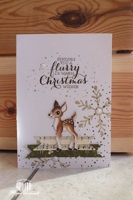 Magical Scrapworld: Flurry Christmas, Stampin' Up!, flurry of wishes, Holly Jolly, Home for Christmas.