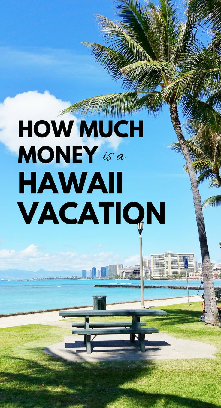 How much money is Hawaii vacation. Hawaii on a budget: Save money, have fun on Hawaii vacation?! If you like beaches, snorkeling, hikes, then yes! ;) What you pack, wear can add costs for your Hawaii packing list, but you can find cheap (er) flights, hotels (airbnb vacation rentals), food, activities. Find free things to do in Hawaii. Oahu is good Hawaiian island to save money on travel because of bus. Travel tips with prices for USA bucket list destination! #hawaii #oahu #maui #kauai…
