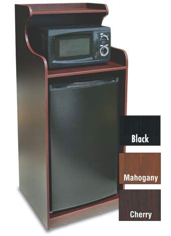 In-Room Microwave/Refrigerator/Cabinet Combo