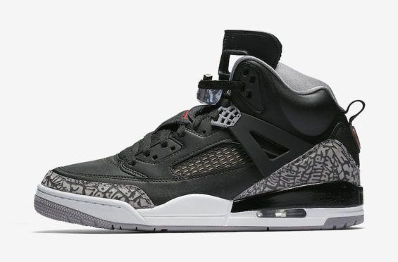 Official Images: Air Jordan Spizike Black Cement