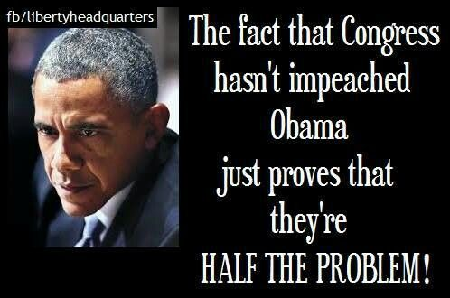 YES!// obama should have been impeached, indited, and in prison. But congress did not uphold the Constitution. The laws of America. We vote to put people in congress and they're suppose to protect our sovereignty but they have failed the American people.