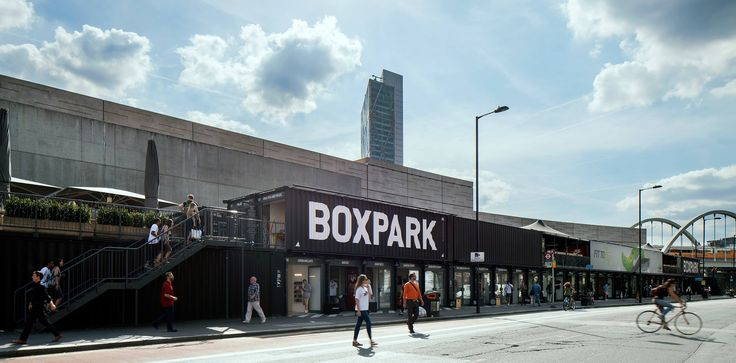 Looking for a great day out, join us @BOXPARK for 2 floors of food, retail & events