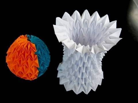 Origami magic balls are amazing