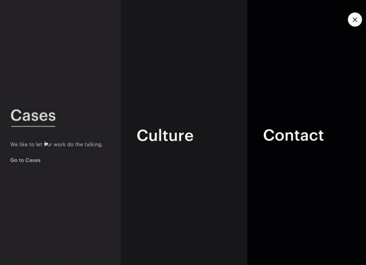 Added by Awwwards Team in Menus Done Well