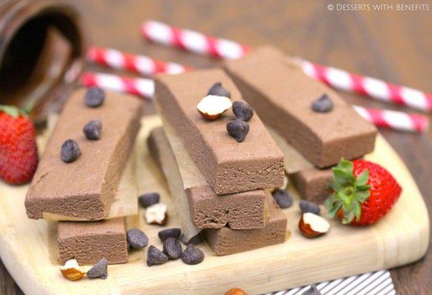 Шоколадные энергетически батончики