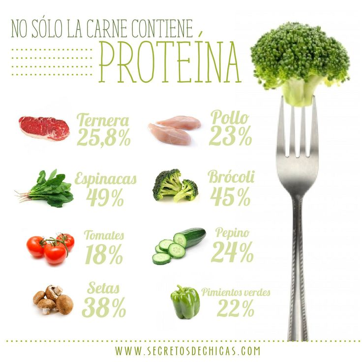 alimentos con alto contenido proteico
