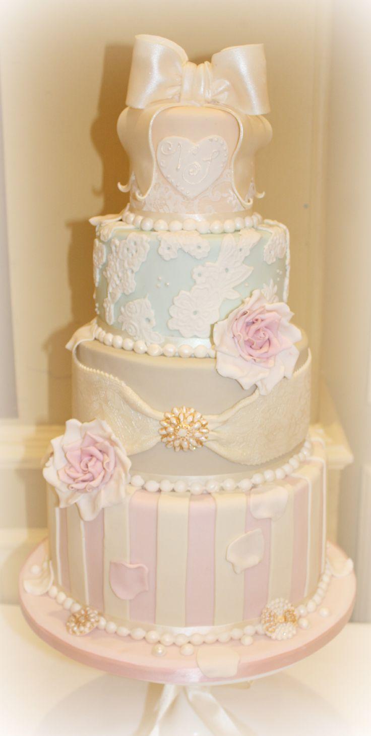 34 best Wedding cakes images on Pinterest | Cake wedding, Weddings ...