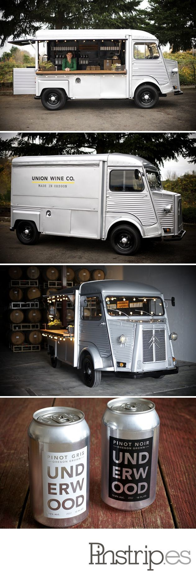 You thought food trucks and craft beer in a can was where it's at; now it's canned wine in a can-of-a-truck via @designyoutrust