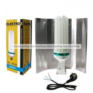 CFL / Low Energy Kit 250W Blue-6500k.
