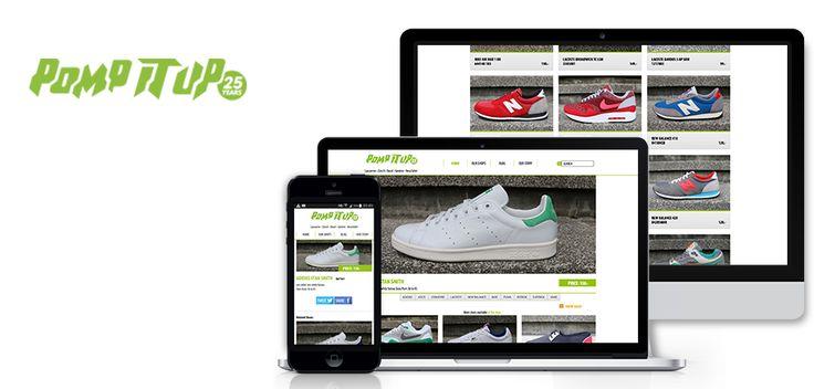 www.asimove.com | Pomp it Up : Conception et développement du site de Pomp it Up, en Responsive Design, proposant une interface claire,  ergonomique qui simplifie le parcours de l'utilisateur.