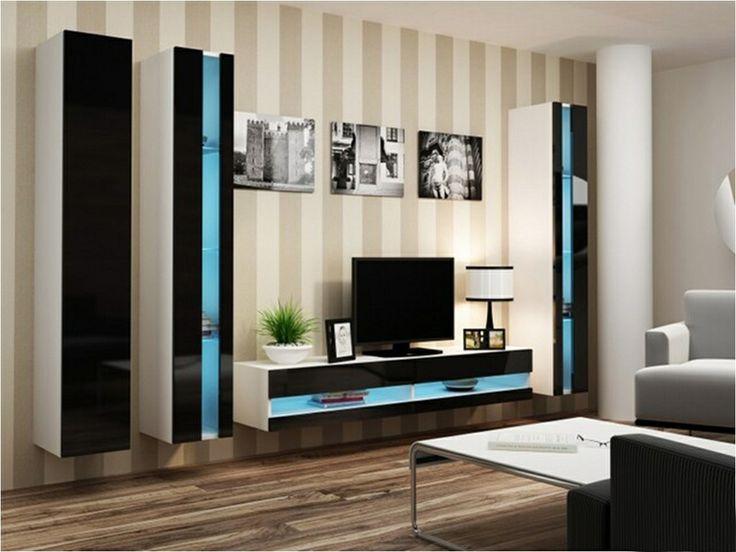 Best Meubles Tv Moderne Images On   Tv Unit Living
