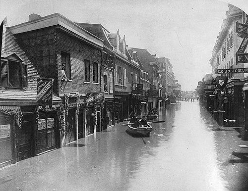 rue Notre-Dame Montréal 1886 | Benoit Brouillette | Flickr