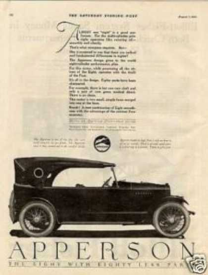 Apperson Eight Car (1920)