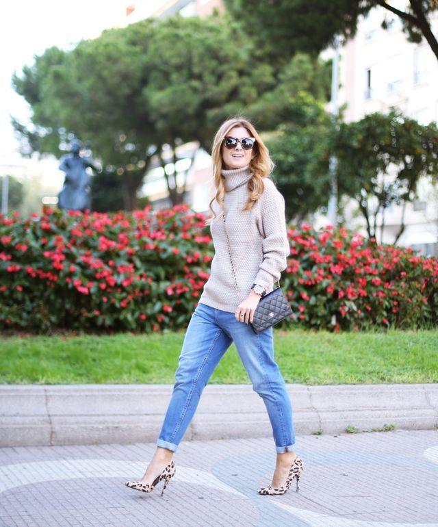 BOYFRIEND JEANS & SHU UEMURA (A TRENDY LIFE)   Boyfriend jeans. Ropa y Moda estilo
