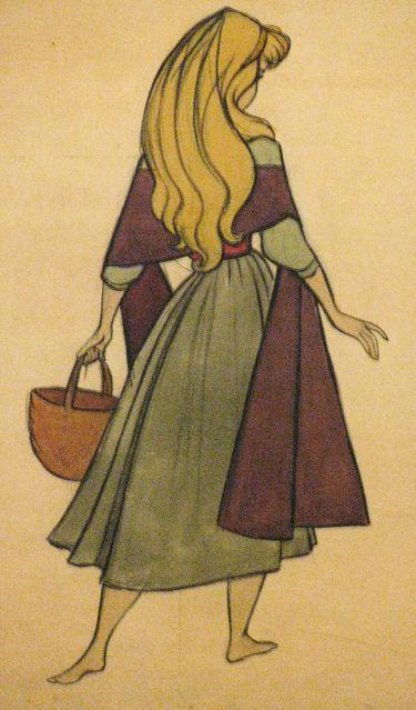Briar Rose sketch