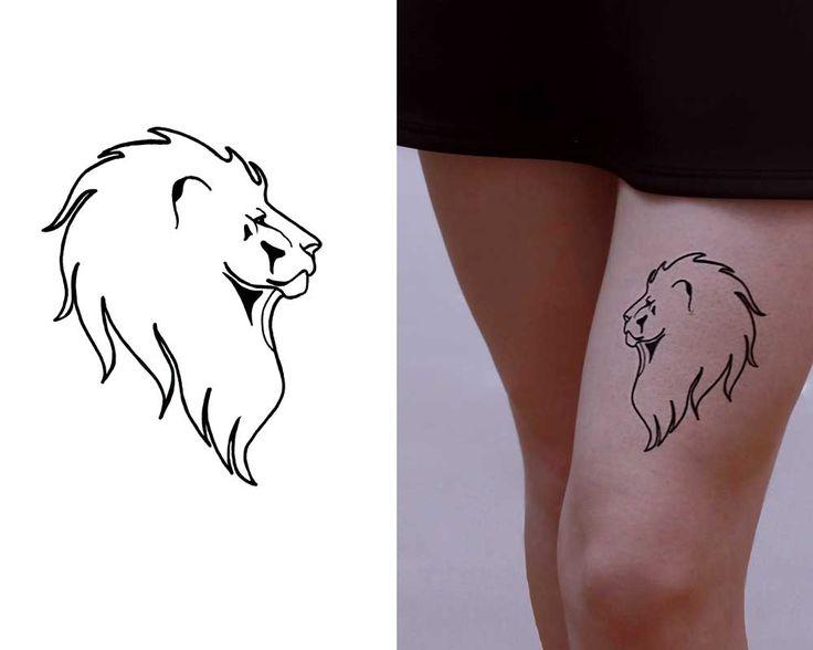 Lion in Black Ink :: Inktion