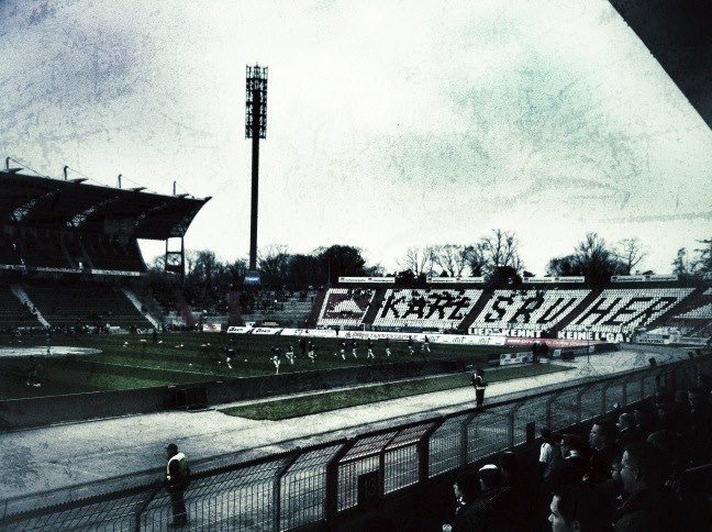 Stadionshot: Karlsruher SC - Kickers Stuttgart (3:0) 30.03.2013