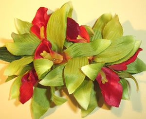 Orchid In Ladies Hair   beautiful blossom your hair with this tropical hawaiian flower hair ...