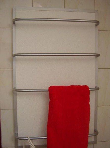 Törölköző szárítós infrapanel termosztáttal G-OLD 400tsr és infrafűtés