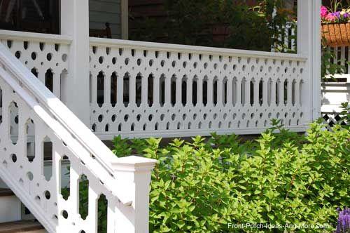 Unusual design on this railing!