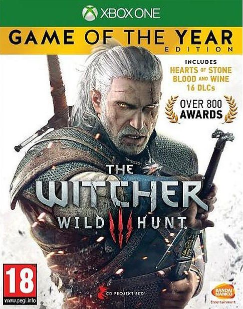 Boxart van The Witcher 3 Wild Hunt Game of the Year Edition (Xbox One), CD Red Projekt