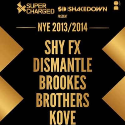 Tue 31 Dec 2013 NYE featuring SHY FX, DISMANTLE, BROOKES BROTHERS and KOVE. All our regular Superchargers and newcomers alike, we are back this NYE doing what we do best; bringing the biggest names across bass music scenes to see you into the new year in our kind of style! Tickets £25 +bf. Click the image to get yours today!!