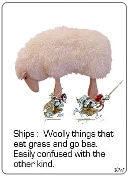 Ships. Discworld quote by Sir Terry Pratchett. by Kim White