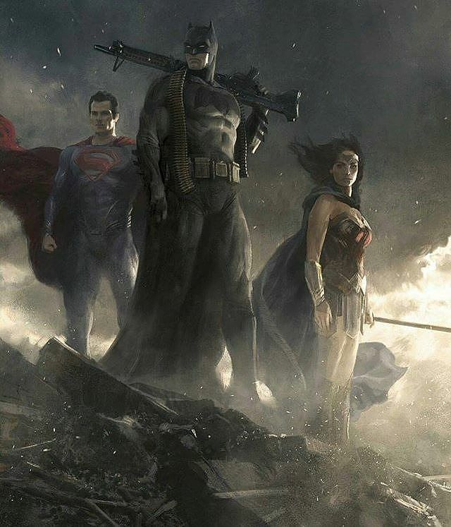 """246 mentions J'aime, 1 commentaires - Games ، Movies ، Comics (@games_movies_comics) sur Instagram: """"#superman #batman #wonderwoman"""""""