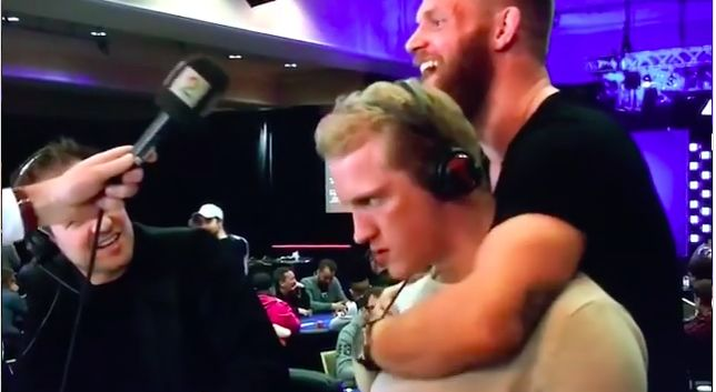 Hockey Player Choked Out By UFC Fighter On Live Television