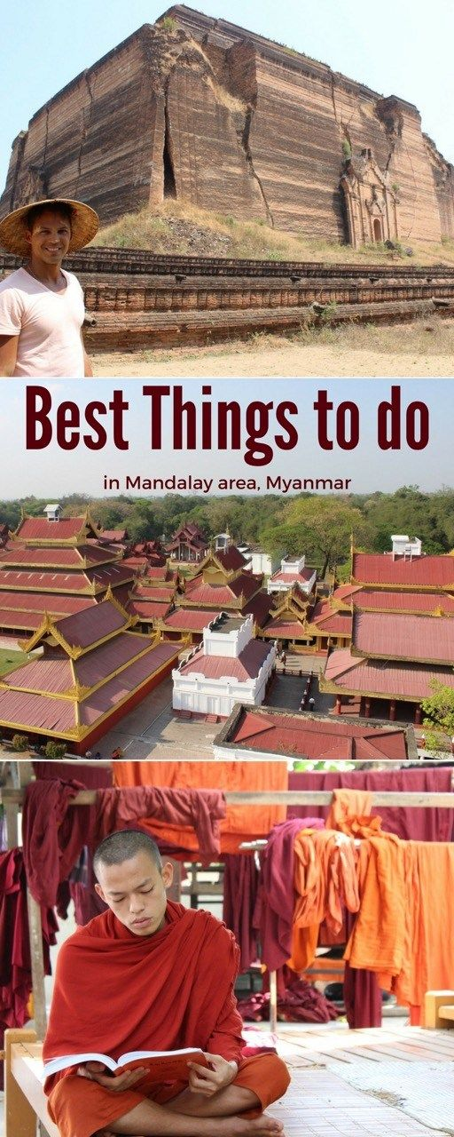 What to do in Mandalay? Here are the best things to do not only in Mandalay but also in the surrounding area, Myanmar.