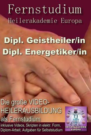 Die wohl in ganz Europa einzigartige Video -Fernausbildung in alternativen Heilmethoden. Über 200 Stunden Live-Unterricht.