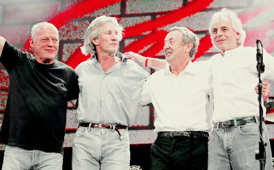 On 2 July 2005 Pink Floyd performed at the London Live 8 concert with Roger Waters rejoining David Gilmour, Nick Mason and Richard Wright. It was the quartet's first performance together in over 24 years.