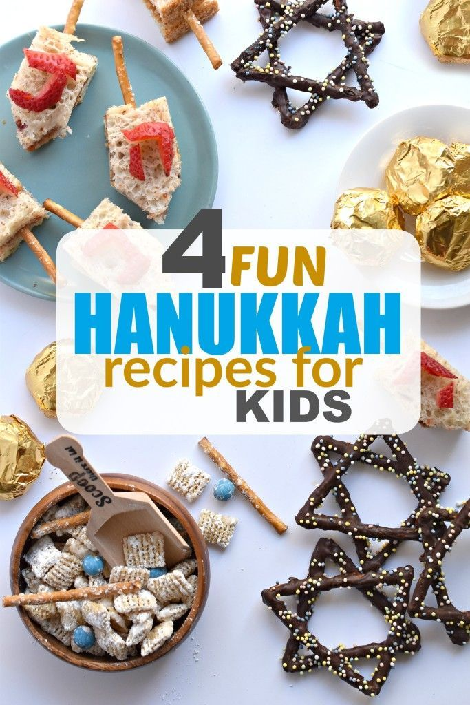 Hanukkah Recipes for Kids - Fork and Beans